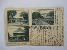 BATAVIA  (  GRET   OIT ....  ) NED . INDIE   -  VUES  MULTIPLES          TTB - Indonésie