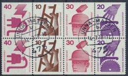 BRD 1974 / MiNr.    H-Blatt 25   O / Used  (K_60_39) - [7] Repubblica Federale