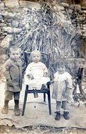 FOTOGRAFIA DE TRES NIÑOS. CHILDREN. CARTA POSTAL. 1921. - NTVG. - Fotografía