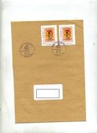 Lettre Cachet Saint Louis Noel Sur Timbre à Moi Fete Des Oeillets - Marcophilie (Lettres)