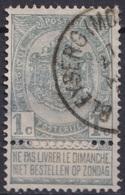 """151-  COB/OBP 53 (o) """"BLEYBERG(MONTZEN)"""" +15 - 1893-1900 Schmaler Bart"""