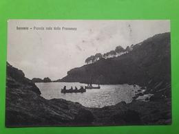 Cartolina - Levanto - Piccola Rada Della Francesca - 1915 - La Spezia