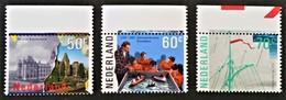EVENEMENTS A AMSTERDAM 1985 - NEUFS ** - YT 1246/48 - MI 1276/78 - HAUTS DE FEUILLES - Period 1980-... (Beatrix)