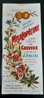 ETIQUETTE 1900 MISALOPECINE LOTION VEGETALE SALLAZ & REY ANTIQUE LABEL PARFUM BEAUTE ANCIENNE IMPRIMEUR JAILLET VOIRON - Etiquettes