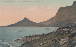 CPA AK Camps Bay Lion 's Head From Victoria Road Cape Town Kapstadt Kaapstad Südafrika Afrique De Sud South Africa - South Africa