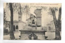 ALGERIE - SETIF - Statue De La Fontaine Monumentale - Sétif