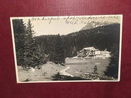 Cartolina Campo Hotel Carlo Magno - 1923 - Trento