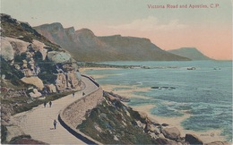 CPA AK Victoria Road And Apostles A Camps Hout Bay Cape Town Kapstadt Kaapstad Südafrika Afrique De Sud South Africa - South Africa