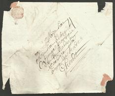 """Belgique - Précurseur GRAMMONT à GAND Non Daté - """"GRAMONT"""" En Noir - 1794-1814 (Französische Besatzung)"""