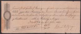 Zahlungsanweisung Von 1815 Höchst Am Main - 1800 – 1899