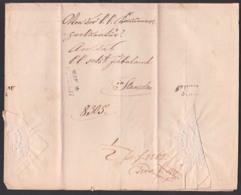 Lemberg Lwiw Lwow Altbrief Nach STEYR Altbrief 4. AUG 1850 Ukraine Mit Trockensiegel Nach Stanislau, Faltbrief - Ukraine