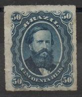Brésil N° 32 Oblitéré - Percés En Lignes - Empereur Pedro II - Brazilië
