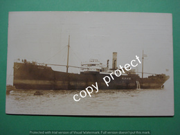 ALG2 Alkaid Steam Cargo Ship Stoomvaart Real Picture Card - Commercio