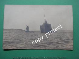 ALG3 Sinking Alkaid Steam Cargo Ship 1926 Stoomvaart Real Picture Card - Commercio