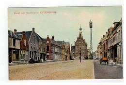CULEMBORG  Markt Met Stadhuis 1923 - Culemborg