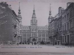 BRUXELLES  : Schaerbeek : Hotel De Ville (belle Animation) - Belgien