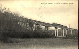 32  MIRANDE  Le Viaduc De Laas - Mirande