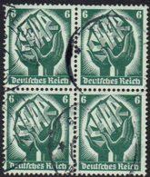 DR,1934, MiNr 544, Gestempelt - Germania