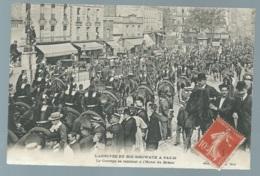 L'ARRIVEE DU ROI SISOWATH A PARIS - Le Cortège Se Rendant à L'Hôtel De Bréon  - Maca0459 - Recepciones