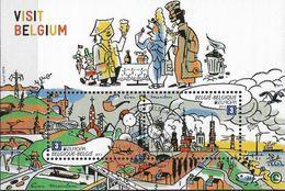 2012 Belgien Mi. Bl. 166 Used  Europa - Besuche - Europa-CEPT