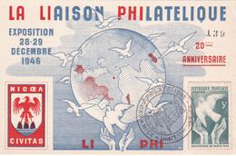 La Liaison Philatélique - 1946 - Timbre N° 761 - 1927-1959 Lettres & Documents