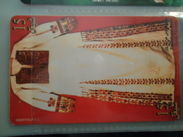 PALESTINE  USED CARDS  COSTUMES - Palestina