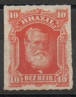 Brésil N° 37 Neuf (*) - Percés En Lignes - Empereur Pedro II - Ongebruikt