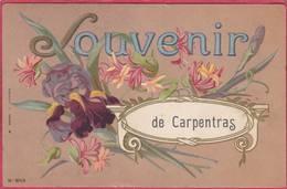 CPA 84 CARPENTRAS Souvenir De ( Fleurs - Carpentras