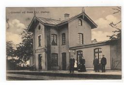 Beek (L) Station BEEK-ELSLOO    Groeten Uit Beek 1918 - Niederlande