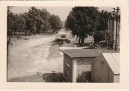 Photo Originale Train Wagon Ligne Des CFD Travaux En Gare De Montereau Des Années 60 - Trains