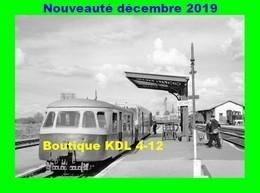 AL 619 - Autorail Billard Et Verney En Gare - GIEVRES - Loir Et Cher - BA - Trains