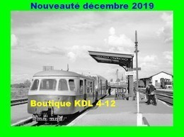AL 619 - Autorail Billard Et Verney En Gare - GIEVRES - Loir Et Cher - BA - Eisenbahnen