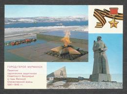 RUSSIA - MURMANSK - Interesting  Post Card   - D 4477 - Russland