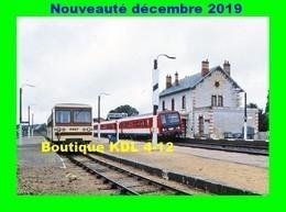 AL 620 - Autorail CFD Et X 2200 En Gare - GIEVRES - Loir Et Cher - BA - SNCF - Stations - Met Treinen