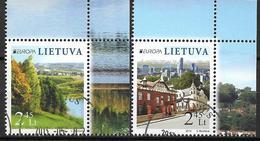 2012 Litauen Lietuva Mi. 1103-4 Used  Europa - Europa-CEPT