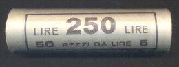 Lire 5 1997 - FDC/Unc Rotolino/roll 1 Rotolino Da 50 Monete/1 Roll 50 Coins - 5 Lire