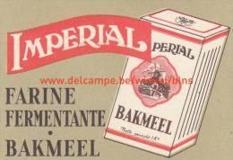 Imperial Bakmeel Farine Fermentante - Boites D'allumettes - Etiquettes