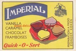 Imperial Quick-O-Sert - Boites D'allumettes - Etiquettes