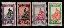 Niger - YV 49 / 50 / 51 / 52 N* (trace) Cote 5 Euros - Nuevos