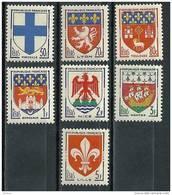 "FR YT 1180 à 1186 "" Armoiries De Villes Série 3 "" 1958 Neuf** - Ungebraucht"
