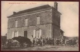 Oisseau-le-Petit  La Mairie  Animée Enfants écoliers * Sarthe 72610 * Oisseau Le Petit  Arrondissement De Mamers - France