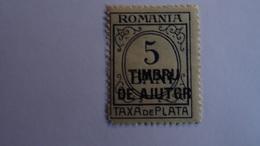 ROUMANIE - 1915 - 1 TIMBRE TAXE  5b Bleu Et Vert MNH ++ Avec Gomme, Sans Charnière SEE SCAN - 1881-1918: Charles I