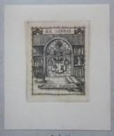 Ex-libris Illustré Suisse - XXème - HENRI MAYOR - Bookplates
