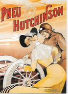 """CP -Publicité - PNEU """"HUTCHINSON"""" (Exécutée Par L'artiste Ernest Montaud) - Publicité"""