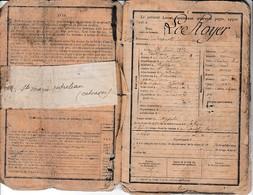 Classe 1893 - LIVRET MILITAIRE - LE ROYER - 119° Régt. D'Infanterie - Rappelé En Octobre 1914 - Documents Historiques