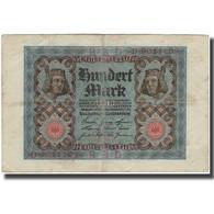 Billet, Allemagne, 100 Mark, KM:69a, TB+ - [ 3] 1918-1933 : República De Weimar