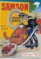 CP -Publicité - Les Pneus 'SAMSON' - L'Artiste 'Thor' - Pubblicitari