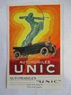 """AUTOMOBILES  """"  UNIC  """"     PUTEAUX  ....  ....    TTB - Publicité"""