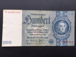 GERMANY P183A 100 MARK 24.06.1935 VF+ - [ 4] 1933-1945: Derde Rijk
