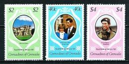 Grenadines Nº 393/5 Nuevo - Grenada (1974-...)